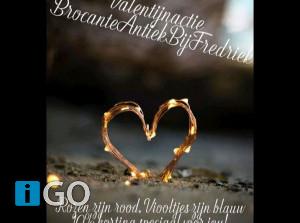 Valentijn Open Dag schuur BrocanteAntiekBijFredriek in Achthuizen