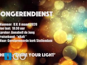 Jongerendienst Stellendam: Shine your Light