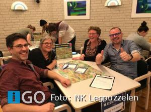 Drie teams kwalificeren zich voor NK Legpuzzelen