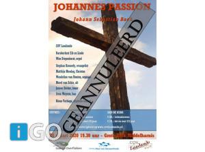 Johannes Passion - 28 maart AFGELAST