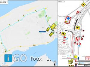 N57 Ouddorp Goedereede 's avonds en 's nachts dicht in april