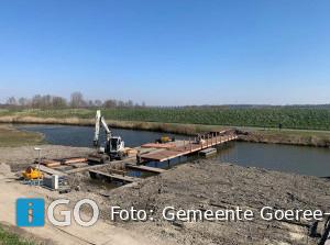 Goeree-Overflakkee reconstrueert oorspronkelijke toegangsbrug Fort Prins Frederik