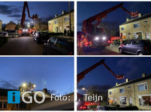Schoorsteenbrand Geleedstraat Ouddorp