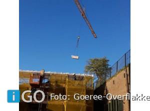 Mezenkooien terug op geschutstoren Fort Prins Frederik Ooltgensplaat