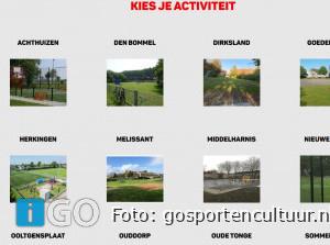 Jeugd sportaanbod via website Sportteam Goeree-Overflakkee
