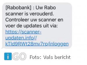 Politie waarschuwt voor valse berichten via Whatsapp of SMS