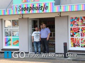 Lokale ondernemer 'In 't Zunnetje': 't Snoephuisje Middelharnis