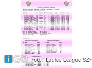 Ladies League Samenspel Zuid-Hollandse Eilanden