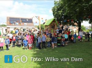 Officiële opening kinderspeelplaats het Sterktuintje Nieuwe-Tonge