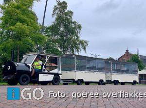 Toeristentreintjes door Middelharnis, Sommelsdijk en Ouddorp
