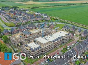 Hoogste punt woon-zorgcomplex Bestenwaerd Dirksland