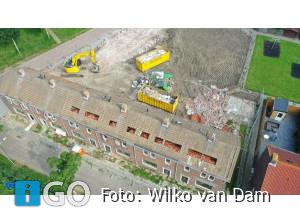 Foto's sloop woningen Kerkstraat-Polderstraat Achthuizen