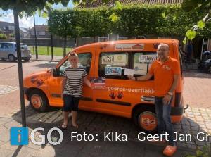 Tuintjes-rommelmarkt Stellendam levert 200 euro op voor Kika GO