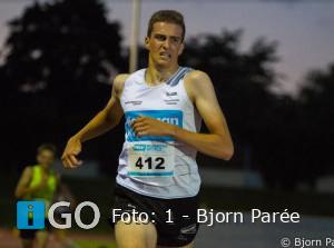 Maikel Peeman imponeert op 3000m bij herstart atletiekseizoen
