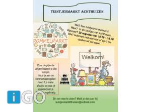 [update] Meer tuintjes-rommelmarkten op Goeree-Overflakkee