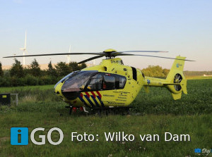 Tractor rijdt door na ongeval fietser Dirksland en ongeval scooter Industrieweg Middelharnis