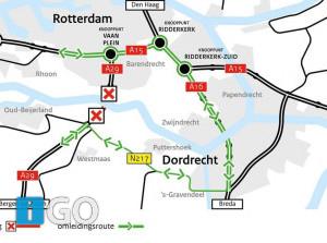 Nachtafsluitingen Heinenoordtunnel regio Goeree-Overflakkee