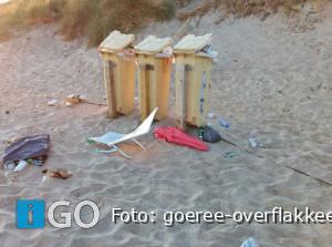 Parkeerplaatsen stranden Ouddorp snel vol - laat strand schoon achter!