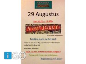 Tuintjes-rommelmarkt Park de Ventjager Ooltgensplaat