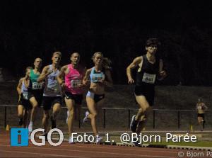 Ricardo Sint Nicolaas verpulvert PR op de 5000m in Utrecht