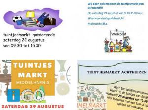[update 20-8] Meer tuintjes-rommelmarkten op Goeree-Overflakkee