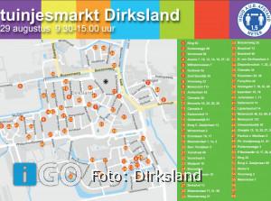 Tuintjesmarkt Dirksland: rommelmarkt in circa 90 voor- en achtertuinen