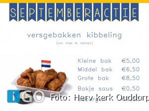 19 september Kibbelingverkoop in Ouddorp