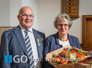 Koninklijke onderscheiding voor Teun Grinwis uit Ouddorp
