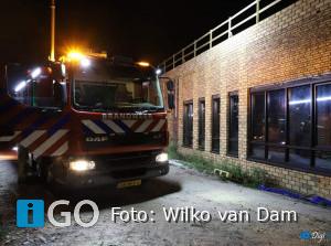 Brand bovenste etage Beroepscampus Langeweg Middelharnis