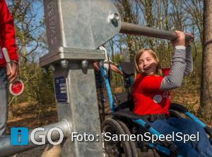Kinderen met en zonder handicap spelen samen regio Goeree-Overflakkee