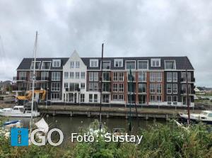 Oplevering 25 gasloze appartementen jachthaven Oude Tonge