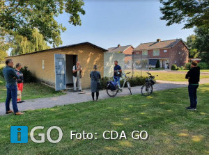 CDA start dorpentour in Nieuwe-Tonge en Oude-Tonge