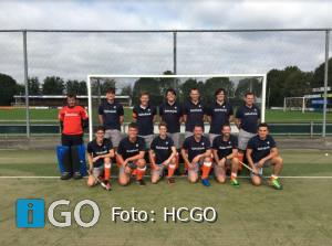 HCGO Heren 1 Team tegen HV Spijkenisse H2