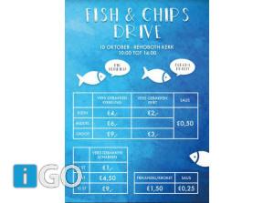 Fish & Chips Drive Rehobothkerkplein Sommelsdijk