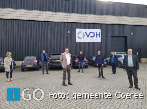 Collegeleden brengen bezoek aan VDH The Freight Managers