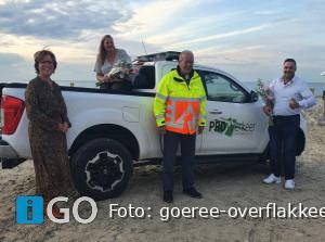 Strandproject Webego levert eerste bevoegde verkeersregelaars op