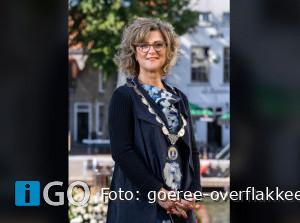 Column burgemeester Ada Grootenboer-Dubbelman - Wekker