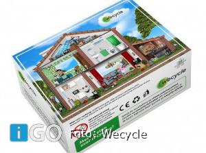Recyclefeest bij de kinderboerderij, cadeautje voor bezoekers