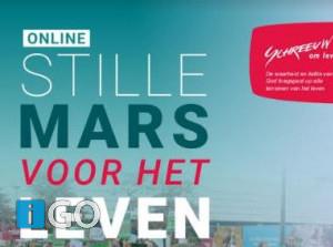Meeluisteren met online Mars voor het Leven op 14 november