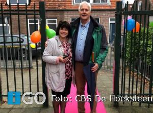 Feestelijk afscheid directeur Karel Knoester CBS De Hoeksteen Ooltgensplaat