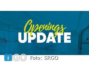 SRGO: Zwembaden gesloten - bewegingsonderwijs en sport gaan door