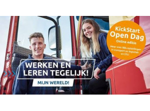 Online opendagen BBL-opleidingenvrachtwagenchauffeur of logistiek medewerker