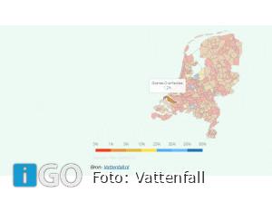 Minstens 7,5 procent woningvoorraad Zuid-Holland aardgasvrij