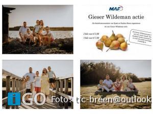 Gieser Wildeman actie Goeree-Overflakkee voor MAF
