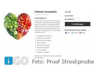 Flakkees verspakket voor twee bij Landwinkel 't Zand Den Bommel