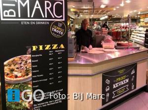 Lokale ondernemer 'In 't Zunnetje': Bij Marc opent pizza shop bij Plus Trommel