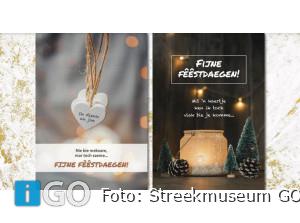 Kerstkaarten -in het Flakkees- bij Streekmuseum Goeree-Overflakkee