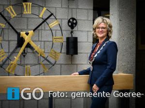 Column burgemeester Ada Grootenboer-Dubbelman - Lichtpuntjes