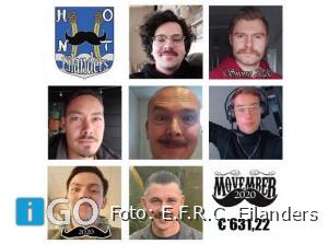 MovemberE.F.R.C. Eilanders in Coronatijd toch geslaagd