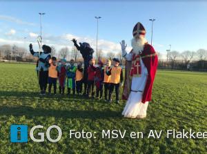 Fantastisch Sinterklaasfeest bij MSV en AV Flakkee